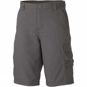 Columbia Boys Silver Ridge III Shorts Age 14+ Grill