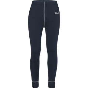 Jack Wolfskin Kids Dry 'n Cosy Long Tights Age 14+