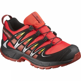 Salomon Salomon XA Pro 3D CSWP Junior Bottie Bright Red/Black/Flea