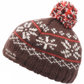 Regatta Girls Dillydally Hat Dark Burgundy
