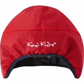 Kozi Kidz Girls Rain Hat Red