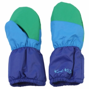 Kozi Kidz Kids Snowball Winter Mitt Blue/Green