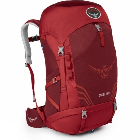 Osprey Youths Ace 38 Rucksack Paprika Red