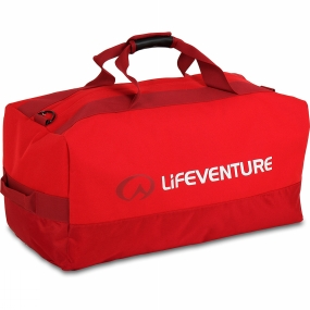 Lifeventure Expedition 100L Duffel Red