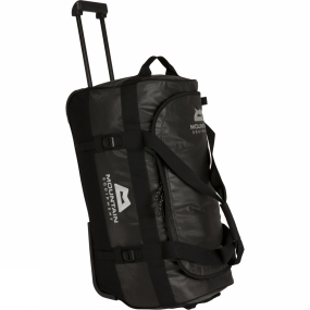 Mountain Equipment This extremely robust travel duffle bag with wheels is made from tough waterproof, tarpaulin fabric for challenging adventures and expeditions. The Roller Wet & Dry Kit Bag from Mountain Equipment includes large internal mesh pocket with a clever water resistant divider so wet and dry clothes don