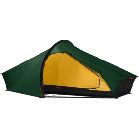 Hilleberg Year after year, this Hilleberg ultra-light solo tent is a favourite among backpackers of all kinds.The Akto pitches easily in the worst of weather, provides good storage and excellent protection from the elements. Pitching as one, it has a single main pole with four stub end poles for better stability and more interior space. The fly or inner can be used on their own (needs extra pole cups). For a tent of this size the excellent ventilation keeps condensation under control. The waterproof Hilleberg Kerlon 1200 outer fabric has perhaps the best strength to weight ratio available today. Multiple reflectors for maximum visibility, strong and tough guylines, plus zipper flaps to provide extra weather protection and increase the zip