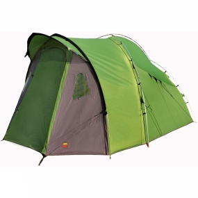 Wild Country Tents An unusal design of freestanding tent that provides space for 4 people - with standing room - within a compact footprint.The Etesian packs down extremely small for such a large tent, so there will still be plenty of space in the car for four people
