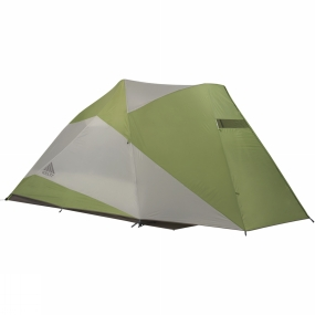 Kelty When the family arrives at camp, the Como 6 tent provides the essential features you need to get set up and comfortable in a flash. Smartly designed with a big door for easy entry and a vestibule that