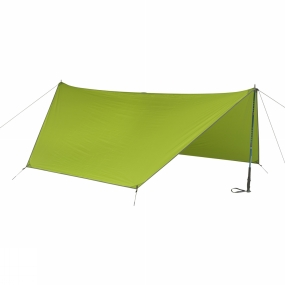 Kelty Every day on the trail ends easily with this simple trekking pole pitch, A-frame tarp tent. It can pitch as a lean-to shelter, or be added to TraiLogic TN to extend the vestibule coverage.
