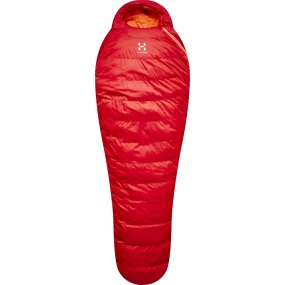 Haglofs A versatile sleepingbag, the Ursus from Haglöfs offers sleep in comfort. This trekking bag insulates with FX down, and we