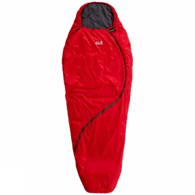 Jack Wolfskin Jack Wolfskin Womens Smoozip +3 Sleeping Bag Red Fire