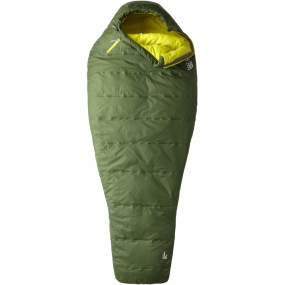 Mountain Hardwear The Lamina Z Flame Sleeping Bag from Mountain Hardwear is a great option for camping and backpacking largely thanks to the ThermalQ insulation. It compresses well into a tiny package when on the move but also maintains excellent loft when you need it to keep you warm. It is lightweight to ensure an excellent warmth to weight ratio and the synthetic insulation will keep you warm even in damp conditions. The longer length of this bag makes it perfect for taller adventurers.The Lamina range boasts excellent features all of which are geared towards maximising the warmth to weight ratio. The insulation has been zoned to offer more in key areas while the ergonomic draft collar at the neck stops any warm air escaping. The hood and face gasket are tailored to minimise the opening and retain heat and the comfort footbox is shaped to follow the natural foot position to help keep your feet warmer and minimise dead space. The comfort mummy cut of the whole sleeping bag is designed to offer excellent warmth and comfort without any feeling of constriction.