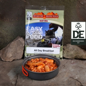 Beyond The Beaten Track Ready Meal All Day Breakfast Beans, Sausage and Bacon