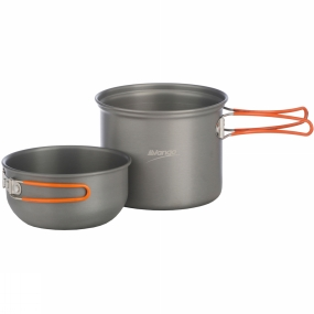 Vango Hard Anodised Cook Set - 1 Person