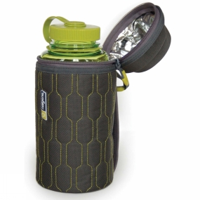 Nalgene Nalgene Insulated Bottle Cover 1L Green/Grey