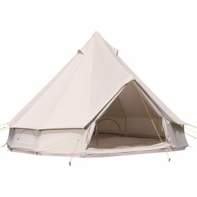 SoulPad The SoulSaver Package 5000-Hybrid-G combination consists of a SoulPad 5000-Hybrid-G Tent, a Blaze Stove and a Blaze-Flue.The perfect combination to get you started with all you need for your SoulPad adventure, just add some of your favourite people and away you go.The tent consists of a cotton canvas flysheet, a zipped-in groundsheet (ZIG), a large 5m diameter, a 1.75m high entrance, 3m at centre and weighing 32.3kg. It combines some of the luxury and practicality of the SoulPad Ease tents with all of the fun and drama of the SoulPad Lite tents. This tent also has The Genie chimney exit pre-fitted, for use with the Blaze-flue and Blaze stove.The Blaze Stove is handmade for excellent quality and efficiency. It is a lightweight wood burning stove with an extra high and chunky 4
