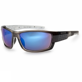 Bloc Bloc Delta Sunglasses Crystal Black/Blue