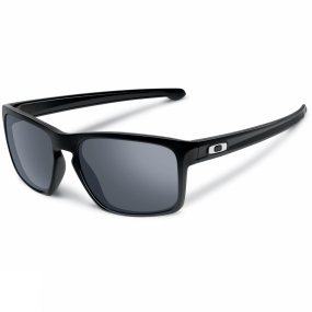Oakley Sliver Sunglasses Polished Black/Black Iridium
