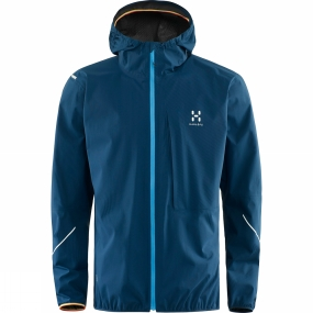 Haglofs Haglofs Mens L.I.M Proof Jacket Blue Ink