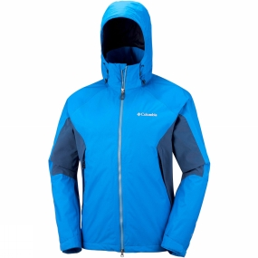 Columbia Columbia Men's On The Mount Stretch Jacket Super Blue/Carbon