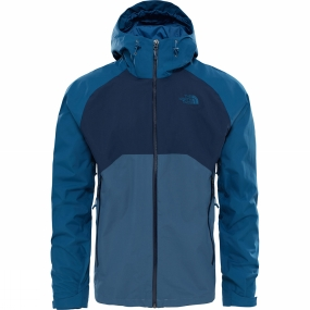 The North Face The North Face Mens Stratos Jacket Conquer Blue/Urban Navy/Monterey Blue