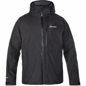 Berghaus Berghaus Mens Island Peak Jacket Dark Grey / Black