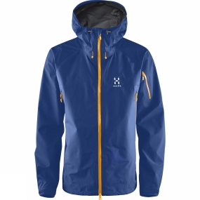 Haglofs Haglofs Mens Roc Spirit Jacket Hurricane Blue