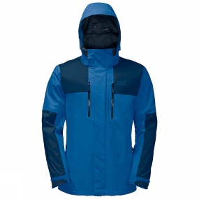 Jack Wolfskin Jack Wolfskin Mens Jasper Flex Jacket Electric Blue