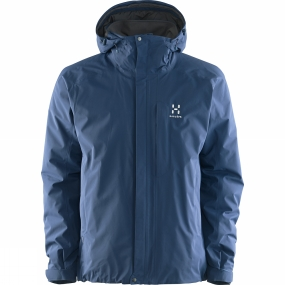 Haglofs Haglofs Men's Stratus Gore-Tex 2L Jacket Blue Ink