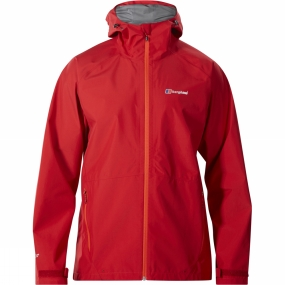 Berghaus Berghaus Mens Paclite 2.0 Jacket Chilli Pepper