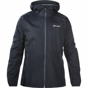 Berghaus Berghaus Mens Deluge Light Jacket Black/Black