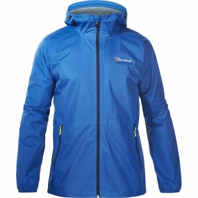 Berghaus Berghaus Mens Deluge Light Jacket Snorkel Blue