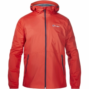 Berghaus Berghaus Mens Deluge Light Jacket Volcano