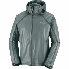 Columbia Columbia Mens OutDry Ex Gold Tech Shell Jacket Pond