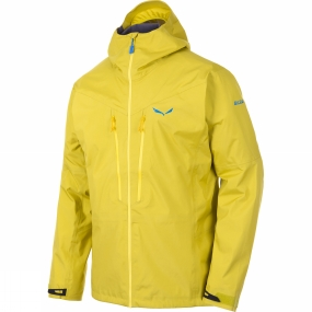 Salewa Salewa Mens Pedroc GTX Active Jacket Kamille Yellow