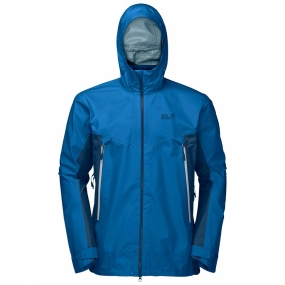 Jack Wolfskin Jack Wolfskin Mens Refugio Flex Jacket Electric Blue