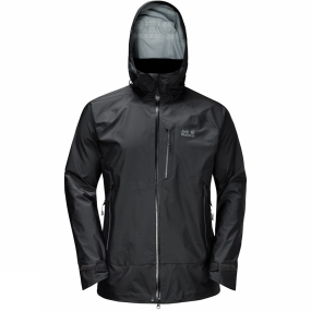 Jack Wolfskin Steep paths, wide panoramas, wind, rain and many miles still to go, the Mens Andean Pass Jacket is guaranteed to keep you dry all the way to your destination. It is an extremely light and comfortable jacket designed for strenuous long hikes with a small pack. Jack Wolfskin