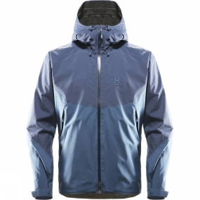 Haglofs Haglofs Mens Virgo Jacket Blue Ink/Tarn Blue