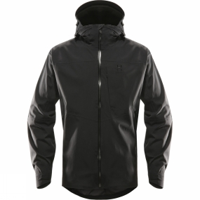 Haglofs Haglofs Mens Tourus Jacket True Black
