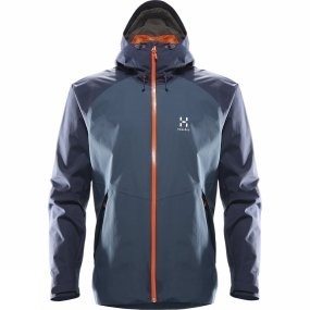 Haglofs Haglofs Mens Esker Jacket Blue Ink/Tarn Blue