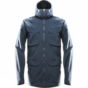 Haglofs Mens Bjurs�s Jacket Blue Ink Haglofs Mens Bjurs�s Jacket Blue Ink by Haglofs