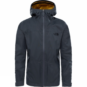 The North Face The North Face Mens Frost Peak Dryvent 2L Zip-In Jacket Asphalt Grey