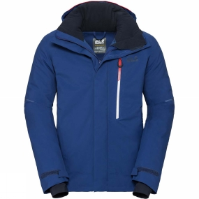 Jack Wolfskin Jack Wolfskin Mens Exolight Icy Jacket Royal Blue