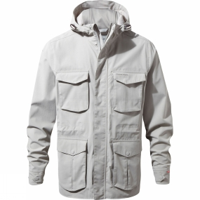 Craghoppers Craghoppers Mens NosiLife Forester Jacket Parchment