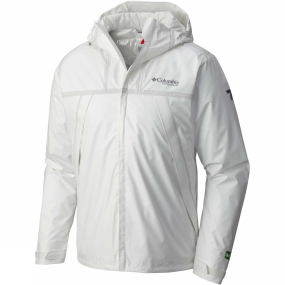 Columbia Columbia Mens Outdry Ex Eco Insulated Shell Jacket White Undyed