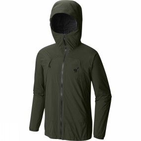 Mountain Hardwear Mountain Hardwear Mens Rogue Composite Jacket Surplus Green
