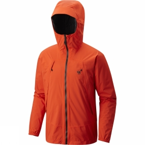 Mountain Hardwear For the guy who gets up at 5. Mountain by 6. Backcountry fluent. Requires, deserves and uses the hell out of our best composite jacket.