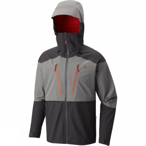 Mountain Hardwear Mountain Hardwear Mens Cyclone Jacket Manta Grey/Shark