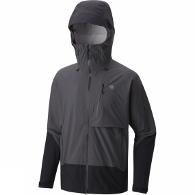Mountain Hardwear Mountain Hardwear Mens Superforma Jacket Shark/Black