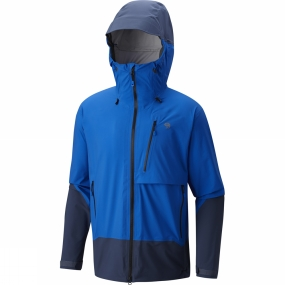 Mountain Hardwear Mountain Hardwear Mens Superforma Jacket Altitude Blue/Zinc